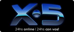 Cadena X5 Radio | 24hs Online